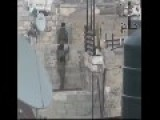 Israel Soldier Fails To Climb A Short Wall