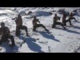 Israeli Golani Recon Intense Snow Training