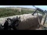 Intense Helmet Cam Firefight In Afghanistan