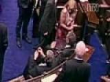 Irish TD Pulls Female Colleague Onto His Lap