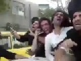 Iranian Youths Is Punished In Public