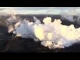 Iceland Volcano AERIAL FOOTAGE 2014 Ísland Volcano Bardarbunga