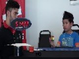 Incredible 7-Year Old Solves Rubik's Cube Blindfolded