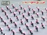 Insane Walking By Japanese Students