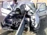 Incredibly Accident! Lucky Guys!