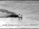 Indian Submarine In Pakistani Waters Forced To Surface