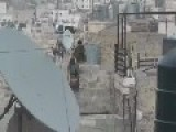 Israeli Soldier Can't Jump Over A Small Wall