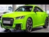 Inside The Factory Producing The Powerful Audi TT RS And A3 Sedan