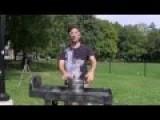Ice Bucket Challenge With Liquid Nitrogen