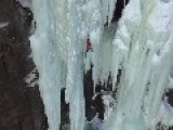 ICE FALL: Night Ice Climbing | Scandinavian Frost Giants