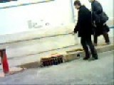 In Algeria: Funny And Painful Prank !!!