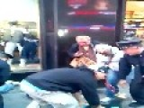 I Don't Sell No F--kin Drugs NYPD Undercover Make An Arrest In Times Square