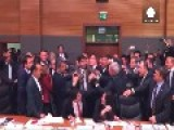 Incredible Scenes In The Turkish Parliament