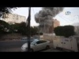 Israeli Strike Obliterates An Apartment Building