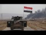 Iraqi Paramilitary Operations Against ISIS Continue In Norther Baiji As Clashes Going On