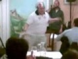 Italian 'Pizzaiolo' Shows His Abilities To Some Customers STABILIZED
