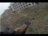 Intense Clashes Between Chechen Fighters And Syrian Army | HD Helmet Cam