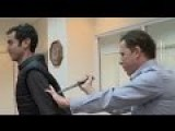 Israeli TV Reporter Stabbed & Injured Demonstrating Knife-proof Vest