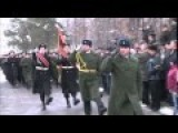 In Sumy Ukraine Army Celebrates Defender Of The Fatherland Day Soviet Style