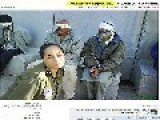 Israeli Soldier Posts Photos Of Herself Smiling Next To Blindfolded Palestinian Prisoners