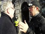 Irish Politician Pat Rabbitte Gives A Citizen The Brush Off