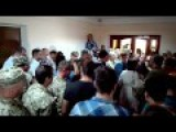 In Ilyichevsk Participants Of Anti-terrorist Operation Blocked Session Of The City Council