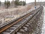 In Soviet Russia Railroad Rails You