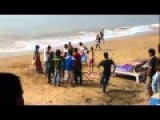 Indian Family Brawl On The Beach