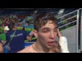 Irish Olympic Boxer Michael Conlan Interviewed After Controversial Defeat