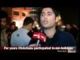 Iraqi Shias In Najaf Iraq Prepare Christmas Decorations For Christian Iraqis Fleeing ISIS