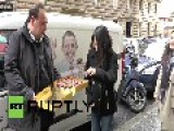 Italy: Baker Switches From Vanilla To Chocolate For Obama