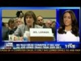 IRS Lost Lois Lerner's E-Mails Prior To 2011