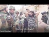 ISIS Fighter Surrenders To Kurdish Militia