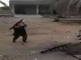 Iraq - INA Soldier Weapons Handling Mayhem