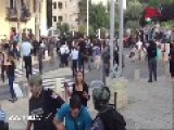 Israeli Arabs Protesting And Attacking Cops In Haifa