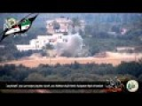 Israeli Army Tank Get Direct Hit By Anti Tank Missile Of Qassam Members