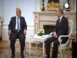 Iraq's PM Seeks Fresh Support In Moscow Talks