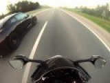 Illegal Street Race: R35 GTR Lays The Smack Down On Powerful Sports Bikes