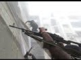 Insane Heavy Intense Close Quarter Urban Combat Fighting Firefight Action During Clashes In Darayya