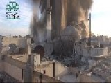 Impressive Vid: IF Blow Up Assadist Carlton HQ In Old Aleppo By Tunnel Bomb