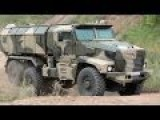 Industrie Russland - Ural-63099 Typhoon MRAP Vehicle & Other Military Trucks