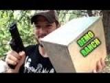 Is Magnesium Bulletproof? DemolitionRanch .50 BMG Shoot At Magnesium Block