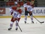Iceman Putin Scores With Hockey Goals Spree