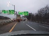 Incredible Near Miss On I-95