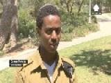Israeli Prime Minister Benjamin Netanyahu Meets With Ethiopian Israeli Soldier Damas Pakada