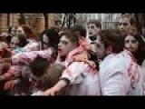 In Kiev The Ukrainian Zombies Portrayed The Zombie