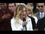 Inaguration National Anthem By 16 Year Old Jackie Evancho