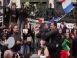 Israeli And Palestinian Supporter Meet At Unity Rally In Paris
