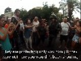 Israeli Arabs Protesting And Attacking Cops In Haifa Part 3