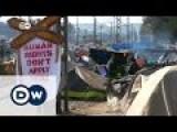 Idomeni: Migrants Protest For Open Border